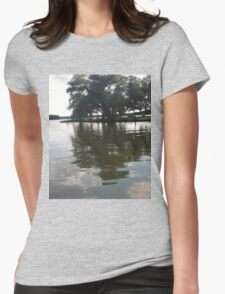 Rippling Waters Womens Fitted T-Shirt