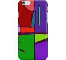 Woodblock Print Simulation iPhone Case/Skin