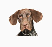 Glossy Grizzly German Shorthaired Pointer Unisex T-Shirt