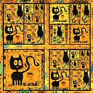 Cats by Betsy  Seeton