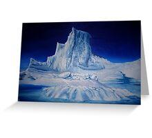 Antartic Landscape Greeting Card