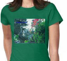Easter heron Womens Fitted T-Shirt