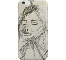 Fancy Lady Person iPhone Case/Skin