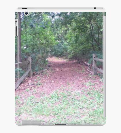Rustic Path iPad Case/Skin