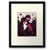 Space Goddess Framed Print
