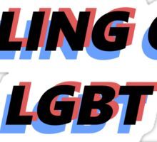 stop killing off lgbt characters Sticker