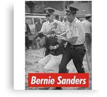 bernie sanders arrested 1963 Canvas Print
