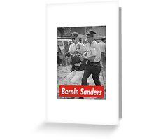 bernie sanders arrested 1963 Greeting Card