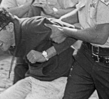 bernie sanders arrested 1963 Sticker