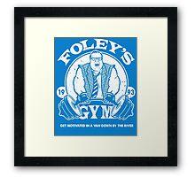 Foley's Gym Framed Print