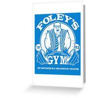 Foley's Gym Greeting Card