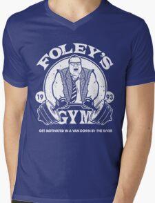 Foley's Gym Mens V-Neck T-Shirt