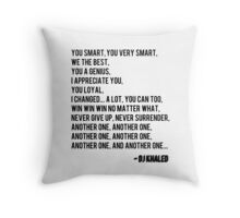 Another One - DJ Khaled Throw Pillow