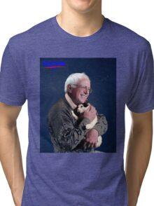 Cat and Bernie Tri-blend T-Shirt