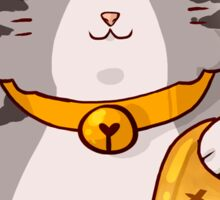 lucky cat-Maine Coon Sticker