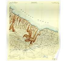 USGS TOPO Map Hawaii HI Waipio 349911 1916 62500 Poster