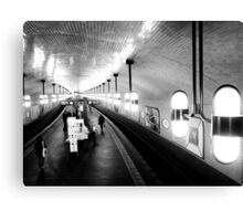 Berlin's metro - subway Canvas Print