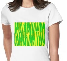 Dean & Danita's Abstract Zippers Womens Fitted T-Shirt