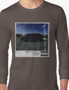 kendrick lamar cover Long Sleeve T-Shirt