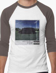 kendrick lamar cover Men's Baseball ¾ T-Shirt