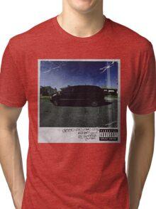 kendrick lamar cover Tri-blend T-Shirt