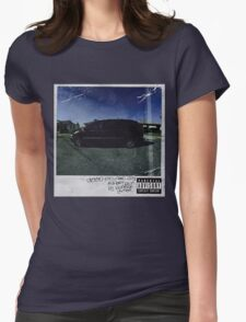kendrick lamar cover Womens Fitted T-Shirt