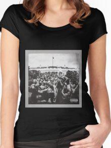 Kendrick Lamar Photos Women's Fitted Scoop T-Shirt