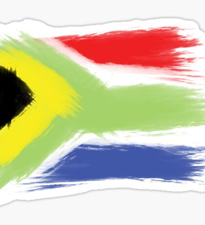 South Africa flag cape town Sticker