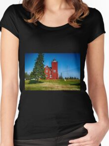 Two Harbors  Women's Fitted Scoop T-Shirt