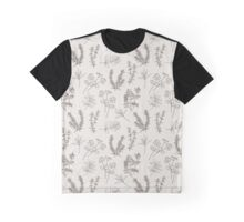 Herb Line Art Graphic T-Shirt