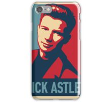 ricky astley  iPhone Case/Skin