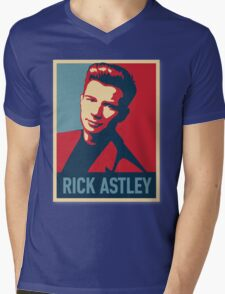 ricky astley  Mens V-Neck T-Shirt