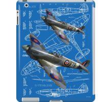 Blueprint Spitfire iPad Case/Skin