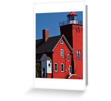 Two Harbors 4 Greeting Card