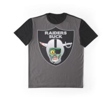 the raiders nfl team Graphic T-Shirt