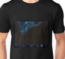 USGS TOPO Map Hawaii HI Hawaii South 349922 1954 250000 Inverted Unisex T-Shirt
