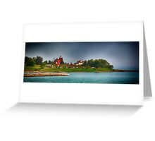 Two Harbors 5  Greeting Card