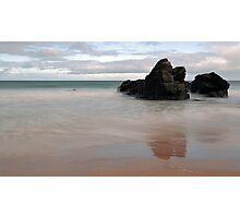 Black Rocks of Sango Bay Photographic Print