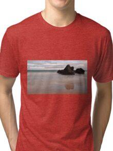Black Rocks of Sango Bay Tri-blend T-Shirt