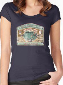grass cutters Women's Fitted Scoop T-Shirt