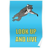 Look Up And Live Poster