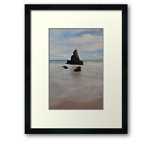Sea Stack on Sango Bay Framed Print
