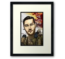 Mad Max Portrait Framed Print