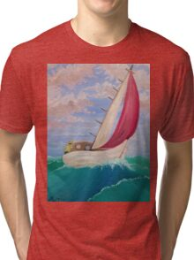 Red Sail Tri-blend T-Shirt