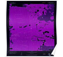 USGS TOPO Map Hawaii HI Kaunene 349402 1960 24000 Inverted Poster