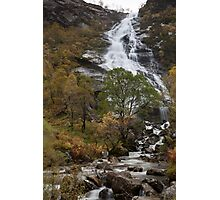 steall waterfall Photographic Print