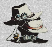 ONE PIECE - LUFFY, ACE, SABO'S HAT Kids Tee