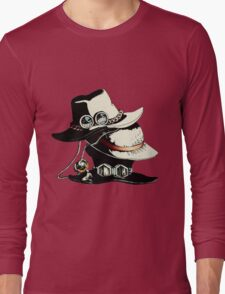 ONE PIECE - LUFFY, ACE, SABO'S HAT Long Sleeve T-Shirt