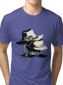 ONE PIECE - LUFFY, ACE, SABO'S HAT Tri-blend T-Shirt