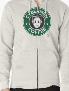 Cybermen Coffee Zipped Hoodie